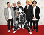 Jabbawockeez arriving at the 'Huading Film Awards' held at The Montalban Theater Los Angeles, CA. June 1, 2014.