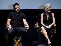 LOS ANGELES - JANUARY 10: Actors David Duchovny and Gillian Anderson attend the 20th Century Fox Television 2018 Winter TCA studio day for 'The X-Files' on the Fox Studio Lot on January 10, 2018 in Los Angeles, California. (Photo by Frank Micelotta/Fox/PictureGroup)