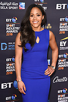 Alex Scott<br /> arriving for the BT Sport Industry Awards 2018 at the Battersea Evolution, London<br /> <br /> ©Ash Knotek  D3399  26/04/2018
