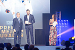 Rudy Fernandez picks up the Best National Player Award during the first edition of Spanish Basketball Awards. July 25, 2019. (ALTERPHOTOS/Francis Gonzalez)