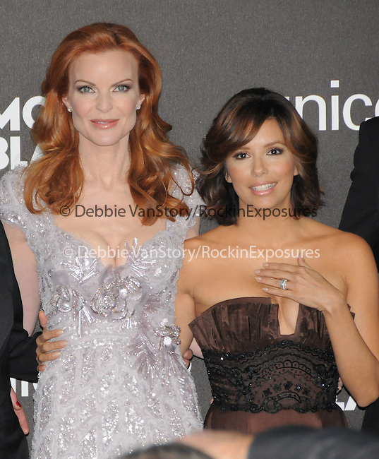 February 20,2009: Marcia Cross & Eva Longoria at The Montblanc Signature for Good Charity Gala held at Paramount Studios in Hollywood, California. Credit: RockinExposures