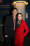 """Kevin Spirtas - OLTL """"Jonas"""" and Days """"Craig Wesley"""" poses wth Tovah Feldshuh - AMC, ATWT and Ryan's Hope perform at the Broadway For A New America presented by the Jewish Alliance for Change on April 13, 2009 at the Peter Norton Symphony Space, NYC. (Photo by Sue Coflin/Max Photos)"""