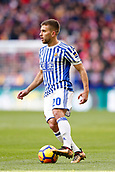 2nd December 2017, Wanda Metropolitano, Madrid, Spain; La Liga football, Atletico Madrid versus Real Sociedad; Kevin Rodrigues (20) of Real Sociedad