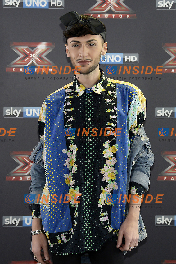 Db Milano 26/10/2016 - photocall trasmissione Tv 'X-Factor' / foto Daniele Buffa/Image/Insidefoto <br /> nella foto: Marco Ferreri Fem