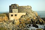 Fort Doyle, German second world war defences on older fortifications, Vale, Guernsey
