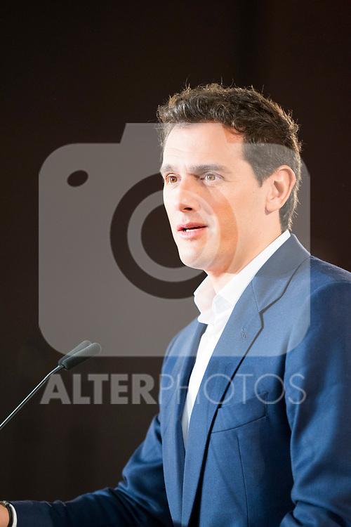 President of Ciudadanos Albert Rivera during General Council. July 29, 2019. (ALTERPHOTOS/Francis González)