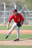 Mike Kenney, Los Angeles Angels 2010 minor league spring training..Photo by:  Bill Mitchell/Four Seam Images.