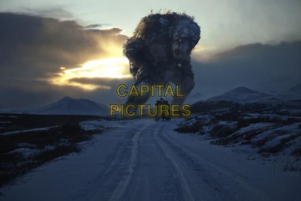 SCENE - The 'LARDE JUTNE' (THE JOTNAR) .in TrollHunter (Trolljegeren) (Troll Hunter).*Filmstill - Editorial Use Only*.CAP/PLF.Supplied by Capital Pictures.