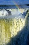 South America, Argentina, Brazil, Iguacu. Iguacu Falls