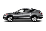 Car Driver side profile view of a 2015 Honda Crosstour EX 4 Door Hatchback Side View