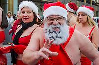 Half Naked Santa Runs