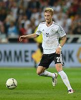 FUSSBALL Nationalmannschaft Freundschaftsspiel:  Deutschland - Argentinien             15.08.2012 Marco Reus (Deutschland) am Ball