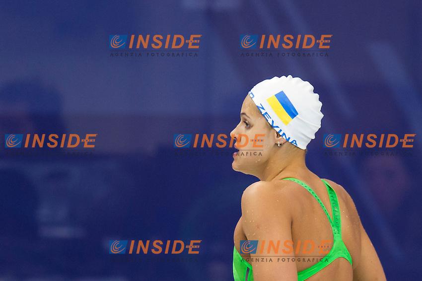 ZEVINA Daryna UKR<br /> London, Queen Elizabeth II Olympic Park Pool <br /> LEN 2016 European Aquatics Elite Championships <br /> Swimming<br /> Women's 100m backstroke preliminary  <br /> Day 10 18-05-2016<br /> Photo Giorgio Perottino/Deepbluemedia/Insidefoto
