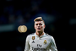 Toni Kroos of Real Madrid reacts during the La Liga 2018-19 match between Real Madrid and Rayo Vallencano at Estadio Santiago Bernabeu on December 15 2018 in Madrid, Spain. Photo by Diego Souto / Power Sport Images