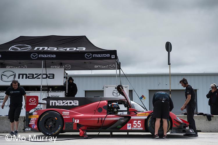 Mazda testing MRLS April '17