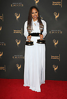 LOS ANGELES, CA - SEPTEMBER 09: Ava Duvernay, at the 2017 Creative Arts Emmy Awards- Press Room at Microsoft Theater on September 9, 2017 in Los Angeles, California. <br /> CAP/MPIFS<br /> &copy;MPIFS/Capital Pictures