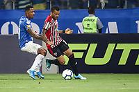 Belo Horizonte (MG), 16/10/2019 - Cruzeiro-São Paulo - Daniel Alves durante Partida entre Cruzeiro e São Paulo, válida pela 26a rodada do Campeonato Brasileiro no Estadio Mineirão nesta quarta feira (16) em Belo Horizonte