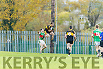 John Payne Dr Crokes in Action against Liam McGrath Loughmore-Castleiney in the Munster Senior Club Semi-Final at Crokes Ground, Lewis Road on Sunday
