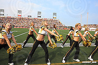 September 7, 2009; Hamilton, ON, CAN; Hamilton Tiger-Cats cheerleaders. CFL football - the Labour Day Classic - Toronto Argonauts vs. Hamilton Tiger-Cats at Ivor Wynne Stadium. The Tiger-Cats defeated the Argos 34-15. Mandatory Credit: Ron Scheffler.