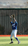 Western Nevada College's Mike Umscheid makes a play in the outfield against Colorado Northwestern on Friday, April 6, 2012, in Carson City, Nev. The Wildcats won 1-0 and 5-1..Photo by Cathleen Allison