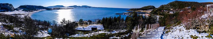 Norway, Sør-Trøndelag, Stokksund. At Hosensand beach at Stokkøya island.