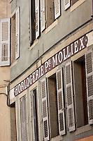 Europe/France/Rhône-Alpes/74/Haute-Savoie/Annecy: Ancienne enseigne Horlogerie Rue Jean-Jacques Rousseau