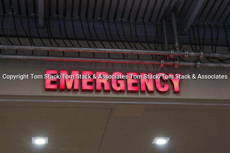 Hospital Emergency Room sign Hospital Emergency Room sign