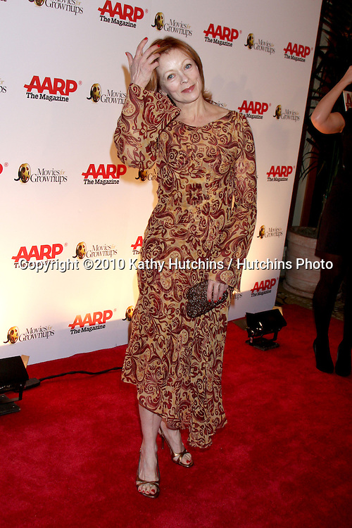 Frances Fisher.arriving at the Ninth Annual AARP the Magazine`s Movies for Grownups Awards Gala .Beverly Wilshire Hotel.Beverly Hills, CA.February 16, 2010.©2010 Kathy Hutchins / Hutchins Photo....
