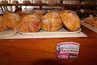 Traditional Pan de Muerto for sale in a Mexican bakery, Mazatlan, Sinaloa, Mexico