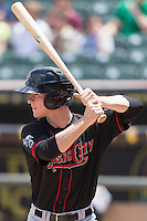 Nashville Sounds second baseman Joey Wendle (13) during a baseball game, Sunday May 03, 2015 in Round Rock, Tex. Express sweep four game series by defeating Sounds 5-4. (Mo Khursheed/TFV Media via AP images)