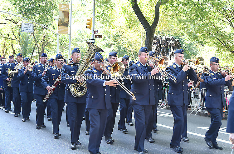 The Marchers attend the 59th German-American Steuben Parade on September 17, 2016 on Fifth Avenue in New York City, New York, USA. <br /> <br /> photo by Robin Platzer/Twin Images<br />  <br /> phone number 212-935-0770