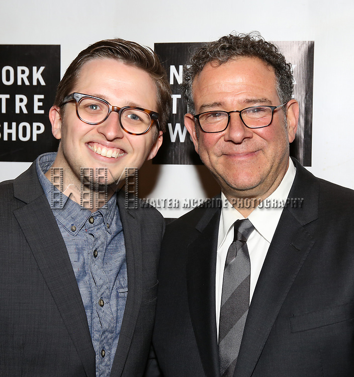 Michael Greif and Will Roland attend New York Theatre Workshop's 2017 Spring Gala at the Edison Ballroom on May 15, 2017 in New York City.