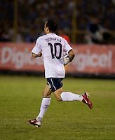 Landon Donovan during FIFA World Cup qualifier against El Salvador. USA tied El Salvador 2-2 at Estadio Cuscatlán Stadium in El Salvador on March 28, 2009.