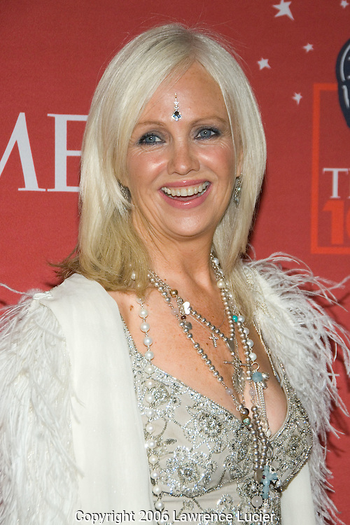 "Rhonda Byrne, creator of the film ""The Secret"" arrives May 8, 2007 for the TIME 100 Gala at Jazz at Lincoln Center in New York City to celebrate the 100 most influential people in the world.  (Pictured : RHONDA BYRNE)"
