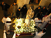 figure of Jesus Christ in Holy week street procession in Soller at night<br /> <br /> Figura de Jesús en una procesión de la Semana Santa en Sóller por la noche<br /> <br /> Jesus Figur in einer Karwochen-Prozession in Sóller bei Nacht<br /> <br /> 3000 x 2250 px
