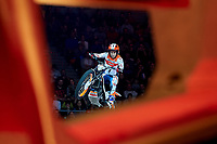 2nd February 2020; Palau Sant Jordi, Barcelona, Catalonia, Spain; X Trail Mountain Biking Championships; Toni Bou (Spain) of the Montesa Team in action during the X-Trail indoor Barcelona