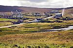 Village of Urafirth, Mainland, Shetland Islands, Scotland