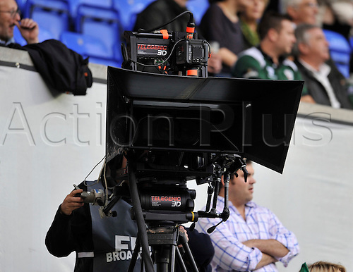 09.10.2010. Heineken Cup London Irish vs Munster  Round 1at Madejski Stadium, Reading, England. Todays game shown in 3D for the first time in the Heineken Cup.