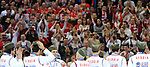 RUKOMET, BEOGRAD, 29. Jan. 2012. - Sajkace.  Utakmica finala Evropskog prvenstva u rukometu izmedju Srbije i Danske odigrane u beogradskoj Areni. Foto: Nenad Negovanovic