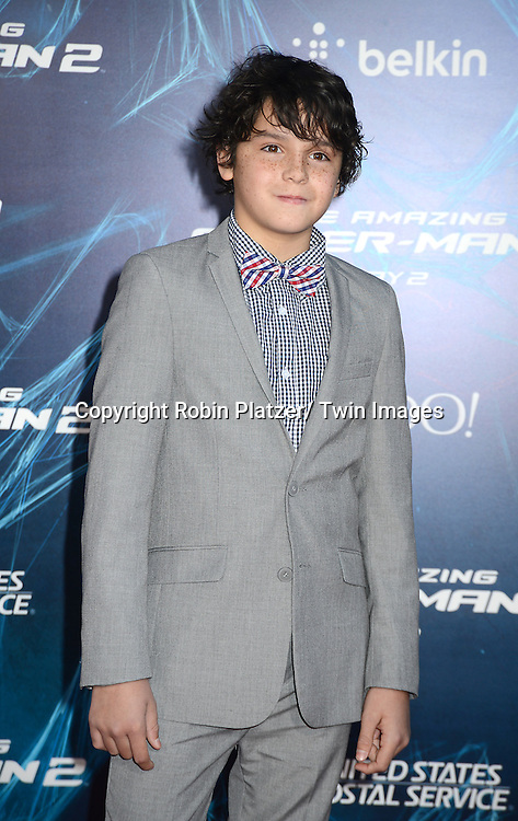 Noah Lomax attends the Premiere of &quot; The Amazing Spider-Man 2&quot; <br /> on April 24, 2014 at The Ziegfeld Theatre in New York City, NY, USA.