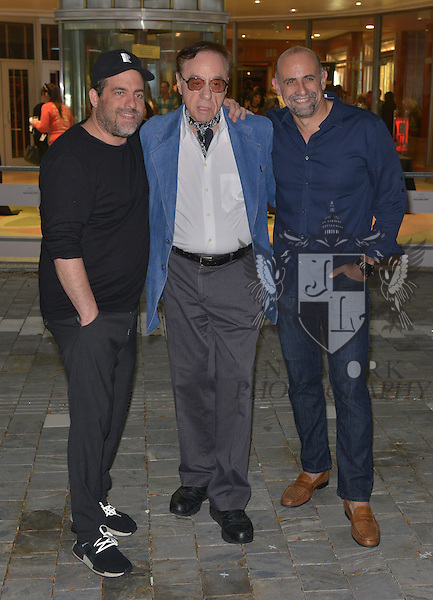 CORAL GABLES, FL - FEBRUARY 28:  Producer / Director Brett Ratner, actor / Director Peter Bogdanovich and Director Bill Teck attend the Miami Premiere of RatPac Documentary Films One Day Since Yesterday: Peter Bogdanovich and the Lost American Film' followed by Q&A at Miracle Theater inside the Actors Playhouse on February 28, 2017 in Coral Gables, Florida. ( Photo by Johnny Louis / jlnphotography.com )