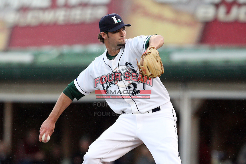 April 20, 2010: Robert Donovan (27) at Applebee's Park in Lexington, KY. The Legends are the Class A affiliate of the Houston Astros. Photo by: Chris Proctor/Four Seam Images