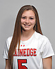 Alexandra Di Chiara of Plainedge poses for a portrait during the Newsday varsity girls lacrosse season preview photo shoot at company headquarters on Wednesday, Mar. 23, 2016.