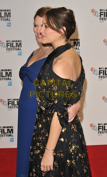 Lea Seydoux and Marion Cotillard at the &quot;It's Only The End of The World&quot; 60th BFI London Film Festival special presentation screening, Odeon Leicester Square cinema, Leicester Square, London, England, UK, on Friday 14 October 2016.<br /> CAP/CAN<br /> &copy;CAN/Capital Pictures