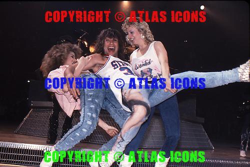 Bon Jovi; New Jersey Syndicate Tour; 1989;<br /> Photo Credit: Eddie Malluk/Atlas Icons.com