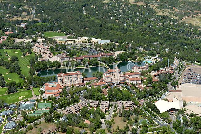 Broadmoor Hotel, Colorado Springs, Colorado. July 16, 2012