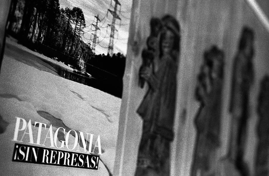 "Liquiñe Dam Project, Patagonia, Chile. ""Patagonia sin represas! - Patagonia without dams!"""