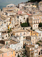 Ragusa, part of the Unesco World Heritage site of the Baroque Towns of the Val di Noto, in south-eastern Sicily, Italy