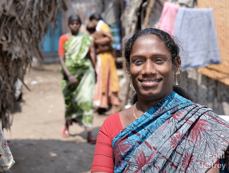 Vennilla is an HIV positive woman in Chennai, India. A transgendered individual, she is a former commercial sex worker. With help from the Madras Christian Council of Social Service, she is today involved in education and advocacy for others within her neighborhood.