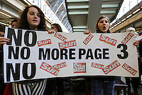 No More Page Three flash mob